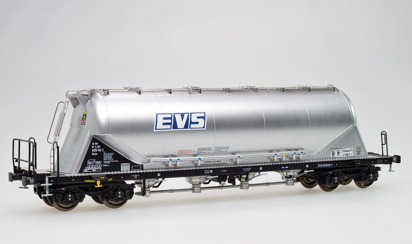 OVP Staubsilowagen Uacns 82m³  EVS NME H0 503801 DC neu